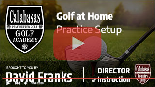 Golf at Home Practice Setup Thumbnail