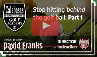 Master Video Thumb - Stop Hitting Behind the Ball