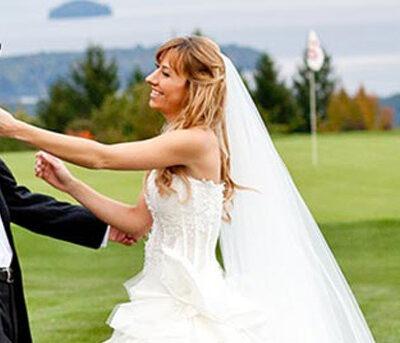 Golf course wedding ideas