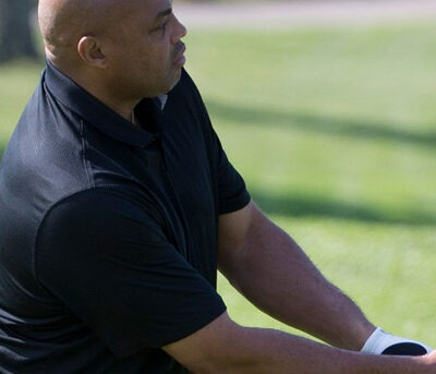 Charles Barkley fixed his ugly golf swing