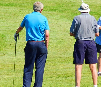 Learning to play golf at 60 is possible