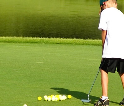 How young can kids start playing golf?
